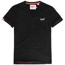 Superdry Camisetas - NARANJA LABEL Vintage bordado cuello en V -