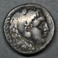 A SILVER TETRADRACHM, DANUBIAN CELTS IMITATING ALEXANDER III. 3RD CENTURY BC.
