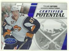 2010 10-11 PANINI CERTIFIED POTENTIAL BLUE SABRES TYLER MYERS #12 #'d 037/100