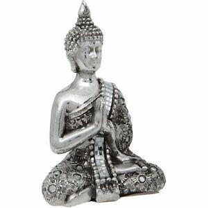 SMALL REFLECTIVE THAI BUDDHA DECORATIVE ORNAMENT ACCESSORY BY MATURI