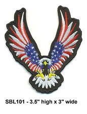 USA PATRIOT EAGLE FLAG COLOR PATCH - SBL101