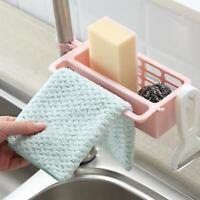 Sink Sponge Storage Dish Drain Brush Rack Kitchen Bathroom Hanging Holder