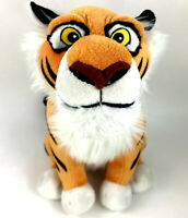 "Disney Store Aladdin Raja Jasmine's Tiger Plush Stuffed Animal Sitting 14"" Tall"