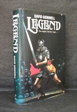LEGEND David Gemmell UK 1st ED HB/DJ Century 1986 Very Rare