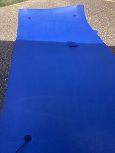 Aqua Floating Water mat Blue