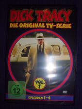 DICK TRACY VOL.1 Die Original TV-Serie Episoden 1-4 Krimi/Detektiv FSK12 DVD NEU