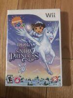 Dora the Explorer: Dora Saves the Snow Princess (Nintendo Wii, 2008) Complete