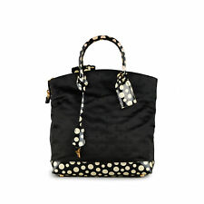 LOUIS VUITTON Yayoi Kusama Desire Lockit Infinity Dots Monogram MM Tote Bag