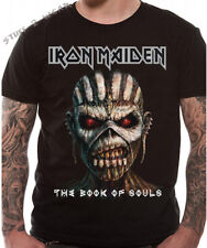 Official Iron Maiden T Shirt Book Of Souls Album Cover S L XXL