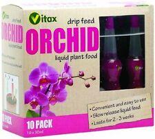 Vitax Orchid Drip Feed Liquid Plant Food 10 x 30ml