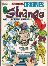Strange Special Origines Marvel Comics 1975 Color France French Lang NM
