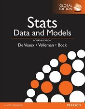 NEW 3 Days AUS Stats Data and Models 4E Paul Velleman Bock De Veaux 4th Edition
