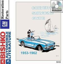 1953 1954 1955 1956 1959 1960 1961 1962 Corvette Shop Service Repair Manual CD