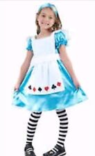 Toddlers Alice In Wonderland Fancy Dress/Outfit World Book Day Age 3