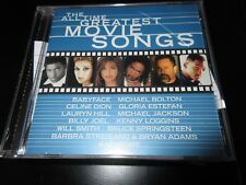 The All Time Greatest Movie Songs , CD