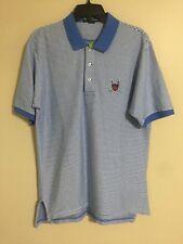 Polo Ralph Lauren Polo Golf S/S Light Blue Golf Crest Polo Shirt - Men's Large L