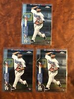 Brusdar Graterol 2020 Topps Chrome Lot Rookie RC Dodgers 🔥📈