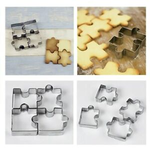 Stainless Steel Cookie Toast Cutter Biscuit Dessert Bakeware Cake Molds