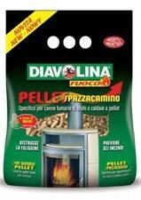 Pulitore Pellet Spazzacamino Diavolina per la Pulizia delle Stufe e Caldaia a p