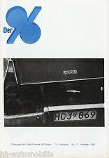 Der 96 Zeitschrift 1990 3/90 Saab Freunde Erftkreis Clubzeitschrift Broschüre