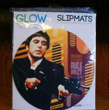 Scarface Money Power Respect 2x Glowtronics DJ Slipmats non-glow Glazed bottom