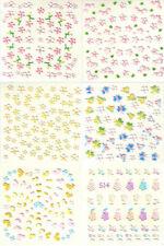 Sticker mit schimmerem Effekt für Nail-Art
