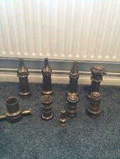 More details for brass linby  & others fire hose nozzle