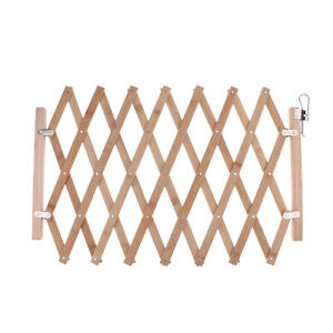 1pc Dog Gate for Doorway, Stairs, Foldable Wood Pet Gate, Pet Puppy Safety Fence