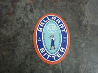OLD AUSTRALIAN BEER LABEL, BALLARAT BITTER BERTIE 740ml