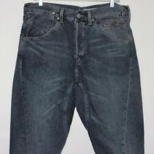 Levi's Engineered Jeans 33 x 32 LEJ Twisted Cinch Buckle Dark Motorcycle 006