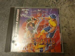 Sengoku 2 - Very Rare Neo Geo CD Game