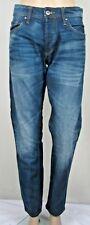"Blue denim casual stretch jeans JACK & JONES COMFORT FIT W 30"" L 32"""