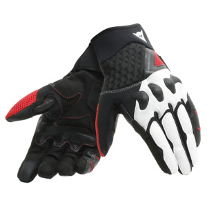 Dainese X-Moto Vented Summer Motorbike Motorcycle Gloves Black Yellow SALE