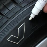 White Permanent Paint Marker Pen Car Tyre Tread Metal Alloy Wheel For VW