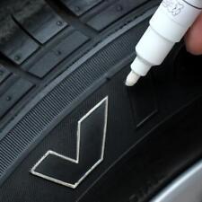 Marcador Permanente Blanco Coche Neumático Pisada Rueda de Aleación de Metal Para VW