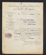 PARIS (IX°) MINES & FONDERIES de ZINC de la VIEILLE MONTAGNE en 1925