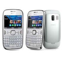 White ORIGINAL Nokia Asha 302  UNLOCKED Warranty 3G Bluetooth Cellular Phone