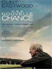 Affiche 120x160cm UNE NOUVELLE CHANCE (2012) Clint Eastwood - Timberlake NEUVE