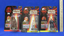 Star War Episode I Figures Anakin Skywalker Darth Maul Mace Windu Sealed Lot 3