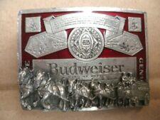Curl of Belt Metal Massif Budweiser King of Beers Years 70/80
