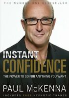 Instant Confidence New Paperback Book PAUL MCKENNA
