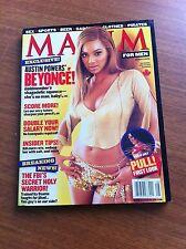 MAXIM MAGAZINE FOR MEN AUGUST 2002 BEYONCE CANADIAN COVER DESTINY'S CHILD