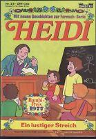 Heidi Nr.23 von 1978 Neue Geschichten zur Fernseh-Serie - TOP BASTEI COMICHEFT