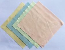 "5"" Microfiber Lens Cleaning Cloth for Tablet iPhone LCD Digitizer Screen 2 Pack"
