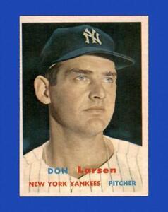 1957 Topps Set Break #175 Don Larsen EX-EXMINT *GMCARDS*