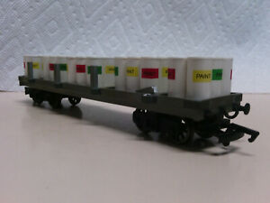 Bachmann Trains Thomas and Friends Flatbed with Paint Drums 77027 HO/OO PLZ Read