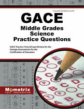GACE Middle Grades Science Practice Questions