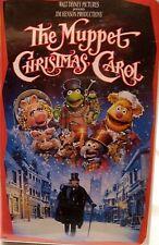 Disney The Muppet Christmas Carol  VHS Tape Clamshell