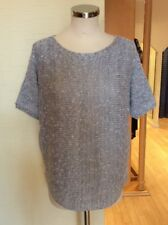 Bianca Sweater Size 20 BNWT Grey With Silver Sequins RRP £84.95 Now £38