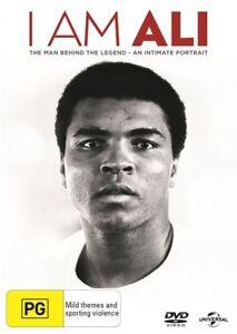 I AM ALI DVD Muhammad Ali Documentary Movie Boxing Legend Doco - AUST REG 4